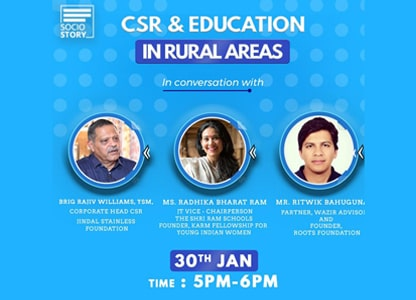 CSR & Eduction in Rural Areas